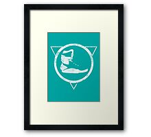 Power Laced Framed Print