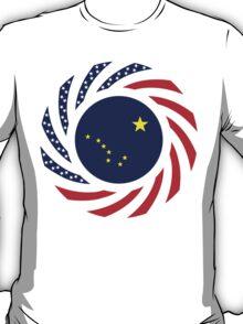 Alaskan Murican Patriot Flag Series T-Shirt