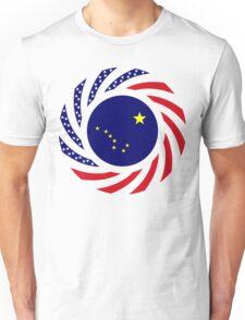 Alaskan Murican Patriot Flag Series Unisex T-Shirt