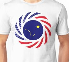 Alaskan Murican Patriot Flag Series Unisex T-Shirt