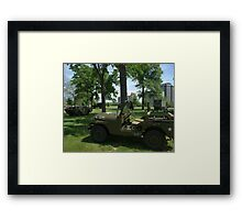 U.S.A. Military Vehicles Framed Print
