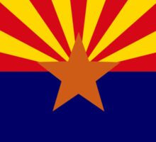 Arizonan Murican Patriot Flag Series Sticker