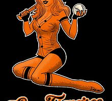 SF Giants Pin-Up Girl 2 by Mistersid