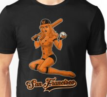 SF Giants Pin-Up Girl 2 Unisex T-Shirt