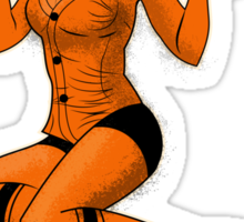 SF Giants Pin-Up Girl 2 Sticker
