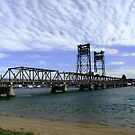 Clyde River Bridge, Batemans Bay. by Trish Meyer