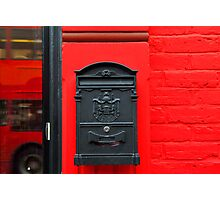 RED BOX Photographic Print