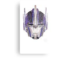 Optimus Batik Metal Print