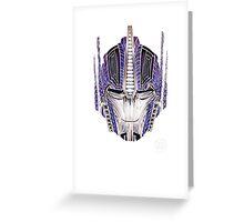 Optimus Batik Greeting Card