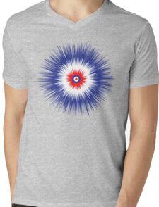 Peacock Mens V-Neck T-Shirt