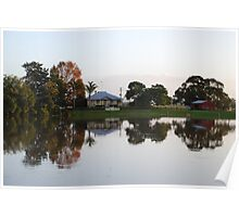 Dumaresq Island reflections Poster