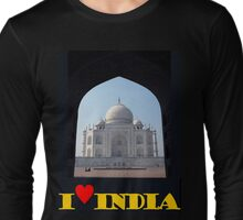 I love India Long Sleeve T-Shirt