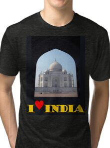 I love India Tri-blend T-Shirt