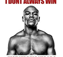 Just kidding, Floyd Mayweather by silverbrush