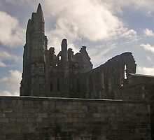 Whitby Abbey by kaotic-shell