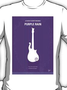 No124 My PURPLE RAIN minimal movie poster T-Shirt
