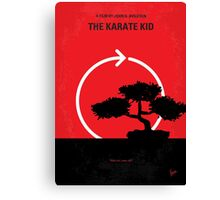 No125 My KARATE KID minimal movie poster Canvas Print