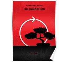 No125 My KARATE KID minimal movie poster Poster