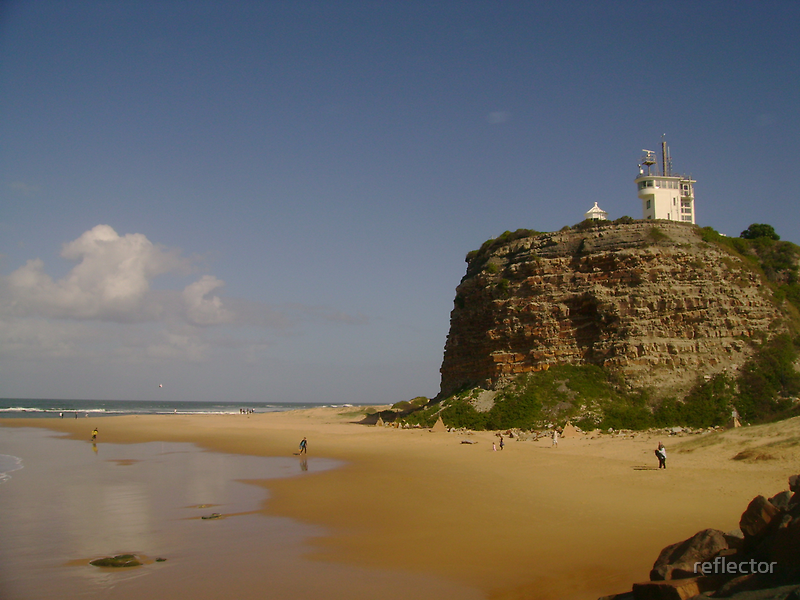 Nobby's Headland - Newcastle by reflector