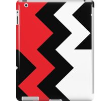 Chevron Cut Red iPad Case/Skin
