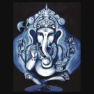 Ganesha  by whittyart