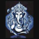 Ganesha  by whittyart