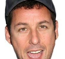 Adam Sandler's Face by PapaBadDad