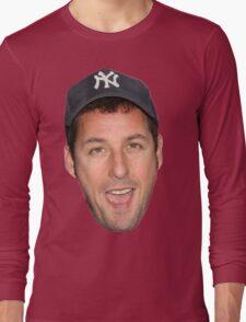 Adam Sandler's Face Long Sleeve T-Shirt