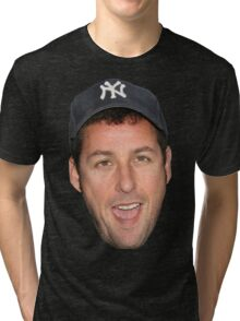Adam Sandler's Face Tri-blend T-Shirt