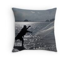 Casting Throw Pillow
