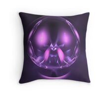 Gaze Into My Crystal Ball Throw Pillow