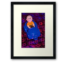 Charlie Brown Disco Driver Framed Print