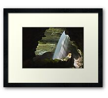 Pouring In Framed Print