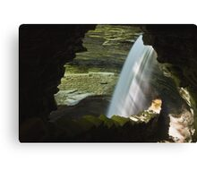 Pouring In Canvas Print