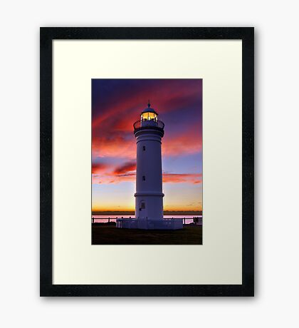 Kiama Lighthouse Framed Print