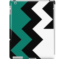 Chevron Cut Teal iPad Case/Skin