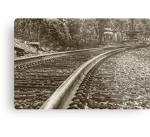 Commuter view Metal Print