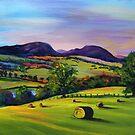 Highland Autumn by Genevieve  Cseh