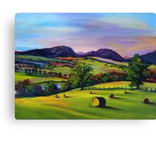 Highland Autumn Canvas Print