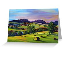 Highland Autumn Greeting Card