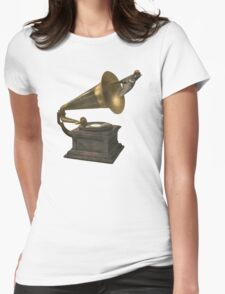 Vintage Songbird  Womens Fitted T-Shirt