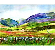 Pentland Hills, Edinburgh Photographic Print
