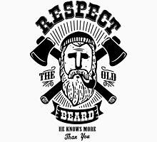 Respect The Beard Mens V-Neck T-Shirt
