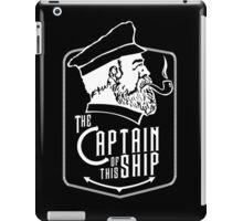 Captain Of The Ship iPad Case/Skin