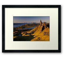Sunrise at Old Man of Storr, Isle of Skye Framed Print