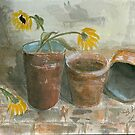 Resting Pots by Brenda Dow