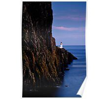 Neist Point Lighthouse, Isle of Skye Poster
