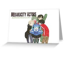 Kagerou Project Inspired Greeting Card