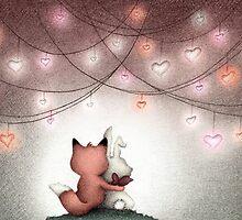 Valentine Buddies by riaartworld