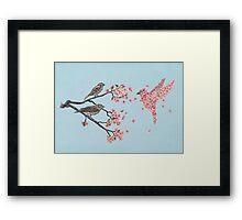 Blossom Bird  Framed Print